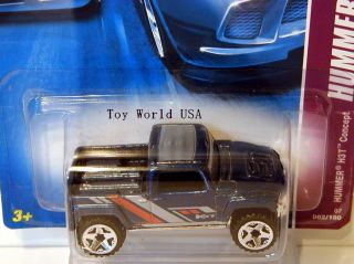 2007 Hot Wheels Hummer 62 Hummer H3T Concept