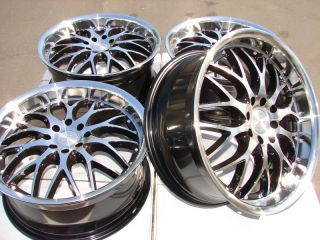 "17"" Effect Wheels Rims 4 Lugs Escort Accord Civic Miata Yaris Altima Cube Lancer"