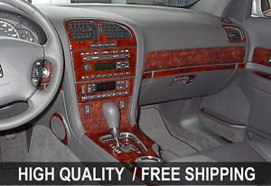 GMC Sierra Denali 03 06 Interior Wood Grain Dashboard Dash Kit Trim Parts TYT45