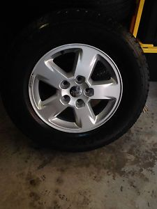 "Jeep Grand Cherokee 17"" Factory Wheels Tires"