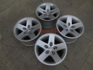 "Factory Jeep Wrangler Rubicon 16"" Wheels Rims"