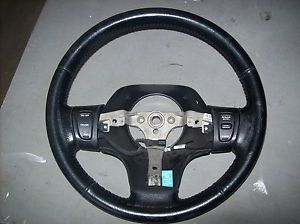 1998 Jeep Grand Cherokee Black Leather Steering Wheel