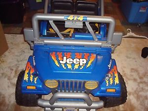Fisher Price Power Wheels Jeep