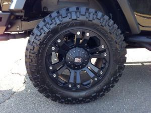 XD Monster Wheels 20 inch Nitto Trail Grappler for Jeep Wrangler