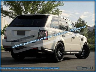 "New Land Rover Range Rover Sport LR3 LR4 22"" Wheels Rims Gloss Black HSE Set 4"
