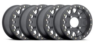 Method Race Wheels UTV Beadlock 14X7 Black Fits All Canam Maverick Commander
