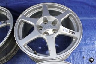 "2003 Mitsubishi Lancer Evolution Enkei Wheels 17"" 5x114 3 evo8 CT9A 286"