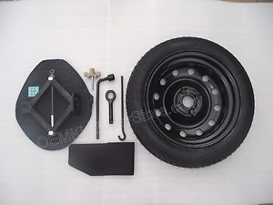 "2012 2013 Kia Rio RIO5 SX 17"" Spare Tire Kit w Jack Rim Tools Wheel"