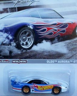 Hot Wheels Racing Oldsmobile Aurora GTS 1 2012 Muscle Series