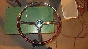 1967 1968 Pontiac GTO Firebird LeMans Steering Wheel Red