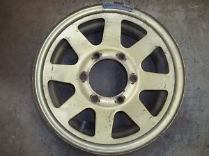 "79 80 81 82 83 84 85 Mitsubishi Truck D50 Arrow Steel Wheel Rim 14"" Used"