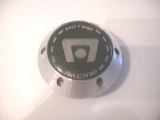 Motegi Racing Aluminum Black Silver Emblem Top Wheel Center Cap Hub