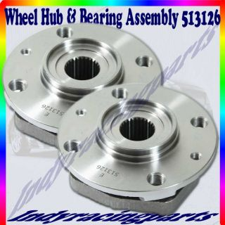 One Pair 90 90 Saab 9000 Front Wheel Bearing Hub Assembly Excluding 513126
