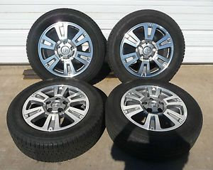 "2007 2014 Toyota Tundra 2008 2014 Toyota Sequoia Platinum Edition 20"" Wheel Tire"