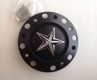 KMC XD Rockstar Wheel Center Cap Part 1001775 YB002 1001775B with Screws