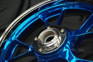 06 07 08 09 10 Ninja ZX10R Candy Chrome Rims Wheels New