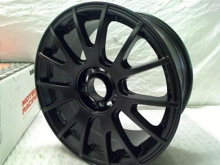 "Motegi Racing MR118 Matte Black Finish Wheel 17x8"" 5x4 5"""