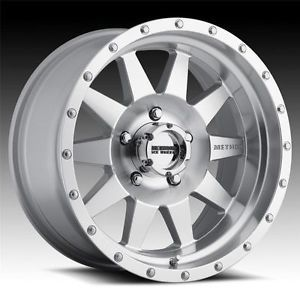 20 inch 20x10 Method Race MR301 The Standard Machine Wheels Rims 8x170 24