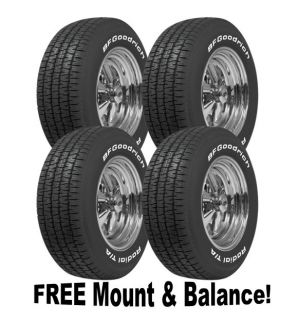 Cragar s s 15x8 Wheel Tire Package 4 BFG Radial T A 225 60 15 5x4 5 5x4 75""