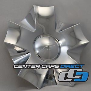 Four Cap Deal Arelli Platinum Ultra Wheels 146 100pc Chrome Center Cap New