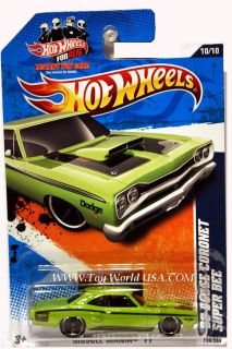 2011 Hot Wheels Muscle Mania 110 '69 Dodge Coronet Sup