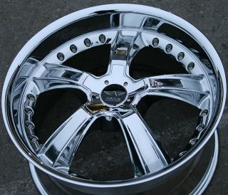 "Avarus AV2 20"" Chrome Rims Wheels Mercedes Benz GL450"