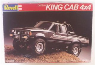 Datsun 4x4 King Cab Truck Off Road Pickup 1 25 Revell