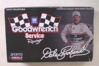 Chevy Dually Truck Show Trailer Dale Earnhardt 3 Action 1 64 Goodwrench Silver