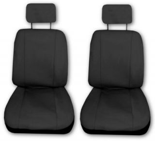Comfort Racing Z Black Car Truck Seat Covers Set with EXTRAS J