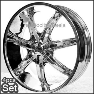 22 inch Wheels Rims Chevy Ford Escalade RAM Tahoe F150