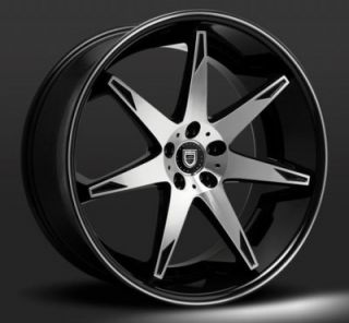 "22"" Lexani R14 Fourteen BMB Wheels Rims for BMW Mercedes Honda Infiniti"