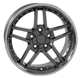 "17"" Rims Fit Camaro Corvette C6 Z06 Wheels Set"