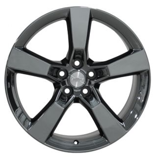 "20"" Rim Fits Camaro SS Wheel Black Chrome 20x8"