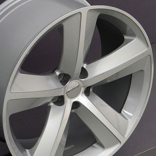 "20"" Silver Challenger SRT Wheels 20x 9 Rim Fits Dodge"