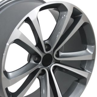 "18"" Gunmetal VW CC Wheels 18x8 Set of 4 Rims Fits Volkswagen"