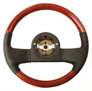 Corvette Wood Leather Steering Wheel