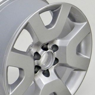 "17"" Silver Nissan Xterra 52522 Wheels Set of 4 17x7 5 Rims"