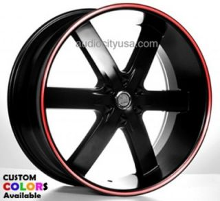 24 Wheels Tires Rims Wheel Chevy Escalade Nissan Siverado