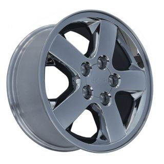 "17"" Jeep Grand Cherokee Chrome Clad Wheels Set of 4 9042 Rims"