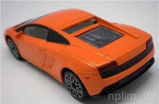 Rastar 1 40 Diecast Model Car Lamborghini Gallardo LP560 4 Orange Tangerine New