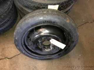 90 94 Mitsubishi 3000gt Spare Temporary Wheel Rim Tire Stock 125 70 15