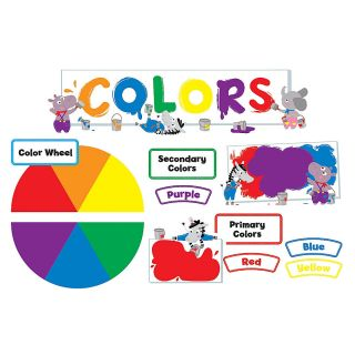 Creative Teaching Press Mini Bulletin Board Set Colors