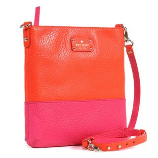 Kate Spade 'Grove Court Cora' Zinniapink Leather Crossbody Kate Spade Crossbody & Mini Bags