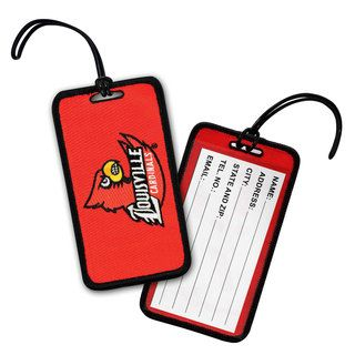 NCAA University of Louisville Cardinals Luggage Tag (Set of 3) Luggage Tags