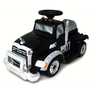 New Star 6 Volt Ride On Mack Truck with Trailer New Star Powered Riding Toys