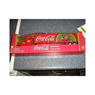 2008 Coca Cola HOLIDAY CARAVAN SEMI TRUCK AND TRAILER  164 Scale  LIMITED EDITION  Other Products