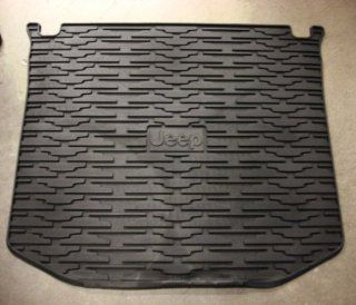 Jeep Grand Cherokee 2011 2012 REAR Molded Cargo Mat TRAY, OE Mopar Automotive