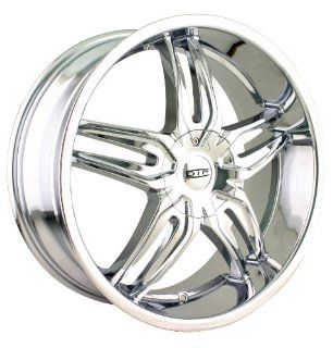DIP Bionic 18x7.5 Chrome Wheel / Rim 5x100 & 5x4.5 with a 40mm Offset and a 72.62 Hub Bore. Partnumber D63 8703C Automotive