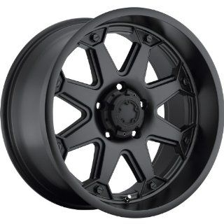 Ultra Bolt 17 Black Wheel / Rim 5x5.5 with a  12mm Offset and a 107 Hub Bore. Partnumber 198 7985B Automotive