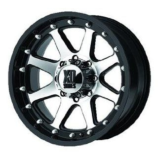XD XD798 16 Machined Black Wheel / Rim 6x5.5 with a  12mm Offset and a 106.25 Hub Bore. Partnumber XD79869068512N Automotive